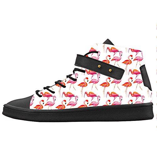 Custom modello Flamingo Womens Canvas shoes Le scarpe le scarpe le scarpe.