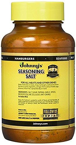 Johnny's Seasoning Salt, 32 oz, 2Count