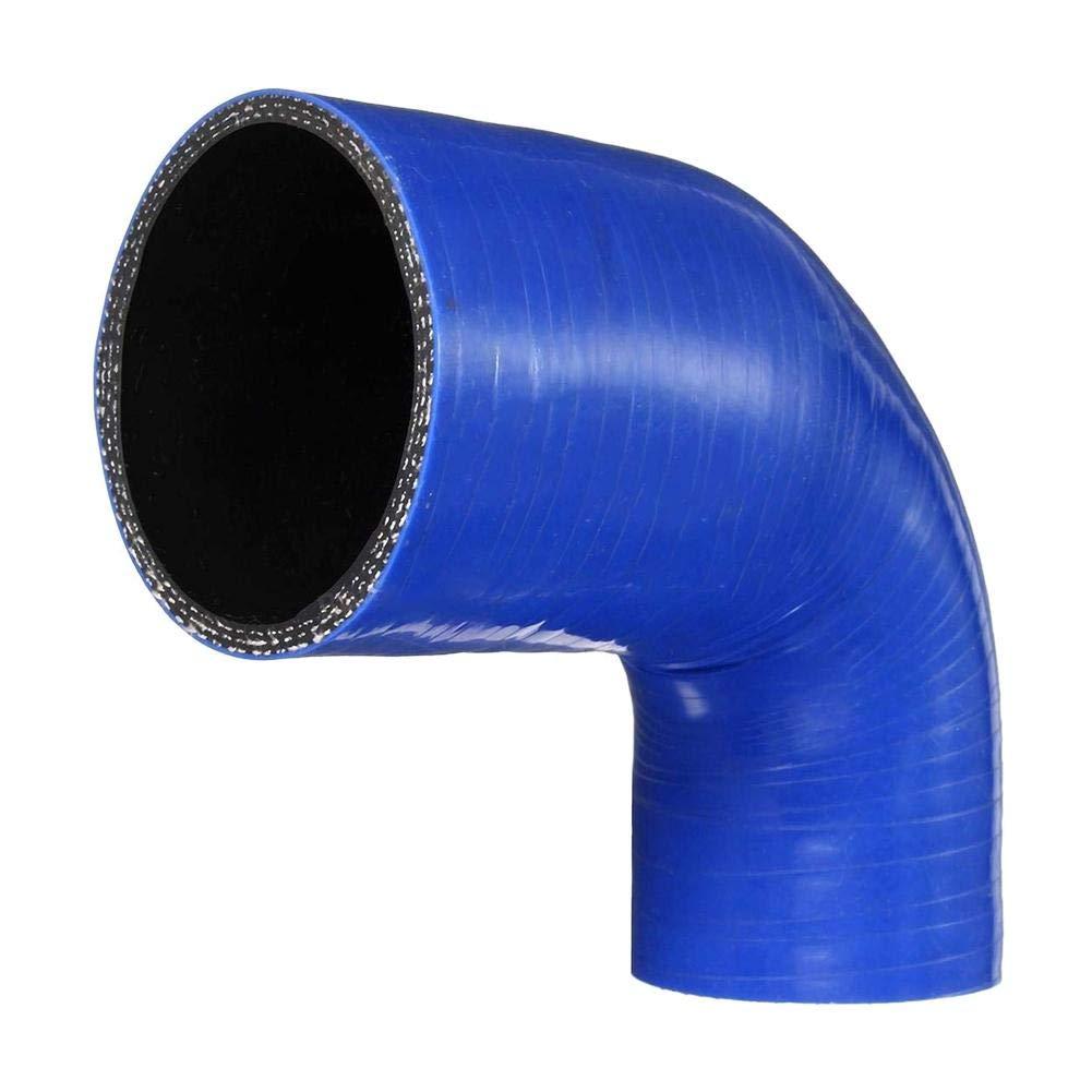 Generp Silicone Flessibile, Resistenza alle Alte Temperature TDCi Egr Intercooler Turbo Boost Tubo radiatore in Silicone Flessibile refrigerante Tubo per S3 1.8T, Audi TT 1.8T (Blu)