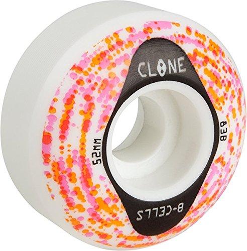 CLONE B-CELLS 52mm 83b WHT/ORG/RED/PUR/BLK WHEELS - Wheels Alien Workshop Skateboard