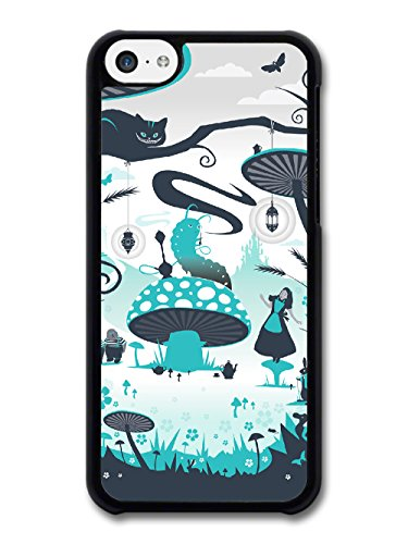 New Fairy Tale Alice Cool Illustration Style Fashion Design coque pour iPhone 5C