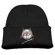 Slayer Haunting The Chapel Child Hats Skull Beanies Hat Small Cap Ash