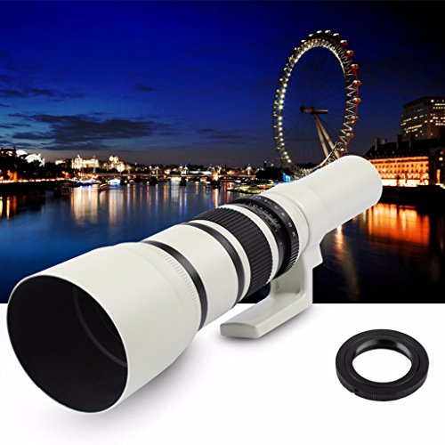 Jili Online 500mm f/6.3 Telephoto Mirror Fixed Lens for Canon 450D 550D 650D 750D 760D by Jili Online (Image #4)