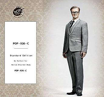 4fcd6a3fd0648 1 6 男性 ビジネススーツコート ネクタイ ベルト 衣装 靴 フィギュア アクセサリー 12インチ POP