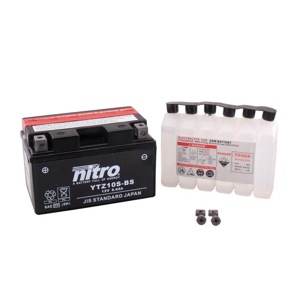 Batterie 12V 8,6AH YTZ10S-BS Wartungsfrei Nitro YZF-R6 RJ15 08-15