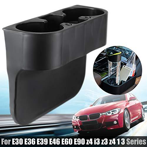 Kegluye Front Cup Drink Holder for BMW 1 3 Series E30 E36 E39 E46 E60 E90 Z4 Z3 328i 335 (Bmw 323i Cup Holder)