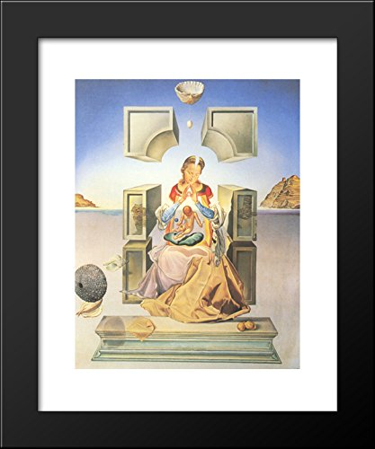 The First Study for the Madonna of Port Lligat 20x24 Framed Art Print by Salvador -