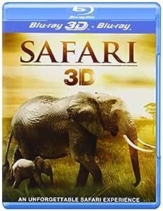 Safari 3D - REGION FREE - UK Import [Blu-ray 3D + Blu-ray]