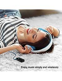 Adaptador auxiliar Bluetooth, mini receptor Bluetooth portátil kit de coche de 0.138 in de salida estéreo (Bluetooth 4.1, A2DP, micrófono integrado) adaptador de coche inalámbrico para el hogar, audio, música, sistema de sonido con ranura TF