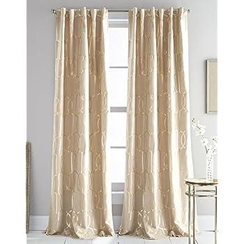 Amazon Com Dkny Modern Knotted Velvet Room Darkening
