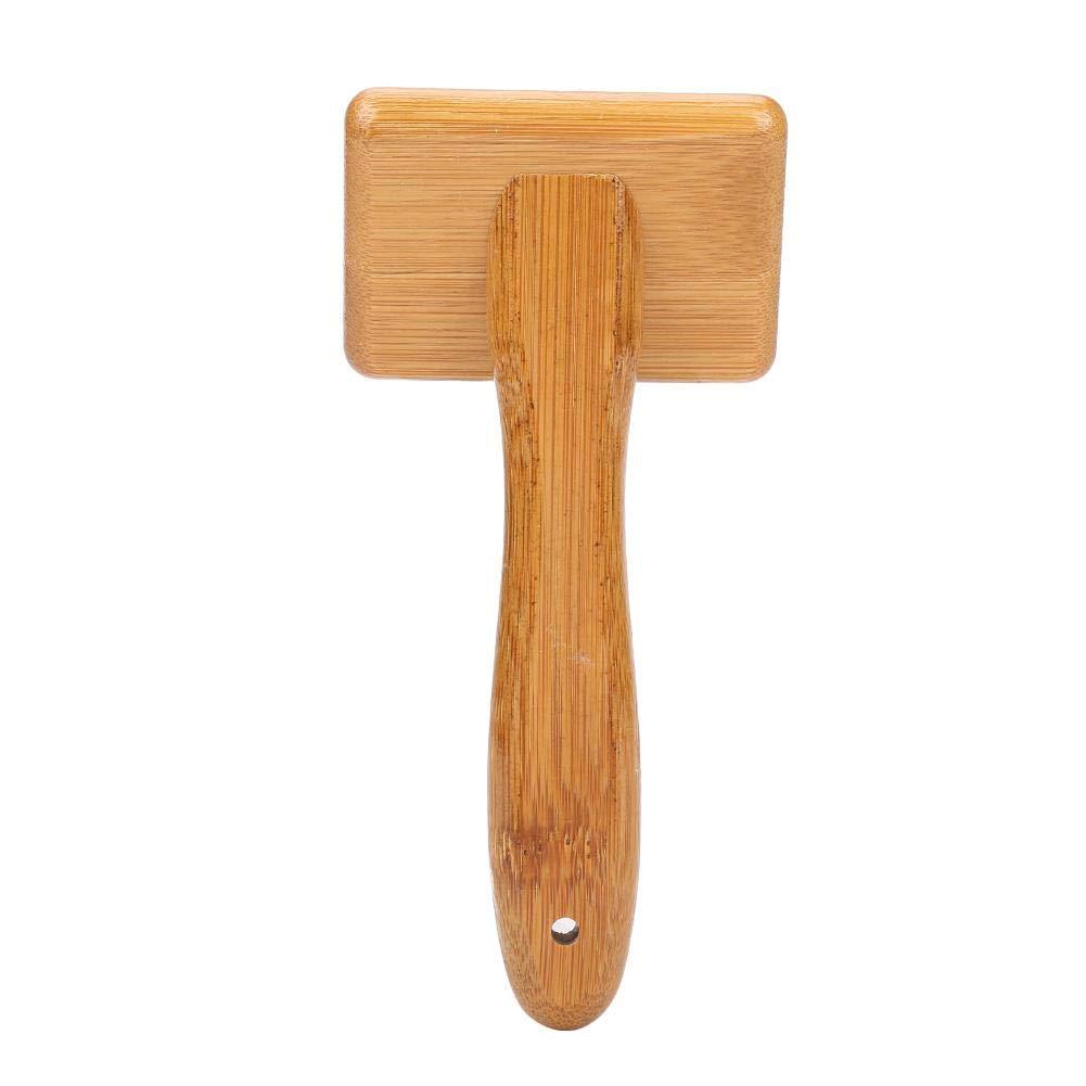 #1 Fdit Cepillo para Mascotas Peine de Pelo de Perro Peine de Gato Bamb/ú Saludable Masaje Cepillo de Limpieza Vertimiento de Perrito Preparaci/ón de Pelo Depilaci/ón
