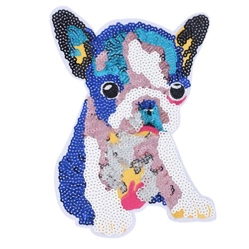 (B2keevin Reversible Embroidery Sew Iron Patch Badge Clothes Bag Dress Applique Sequins)