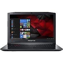 "Acer Predator Helios 300 17.3"" Full HD Gaming Laptop - 7th Gen Intel Core i7-7700HQ Processor up to 3.80GHz, 32GB Memory, 1TB SSD + 2TB HDD, 6GB Nvidia GeForce GTX 1060 Graphics, Windows 10"