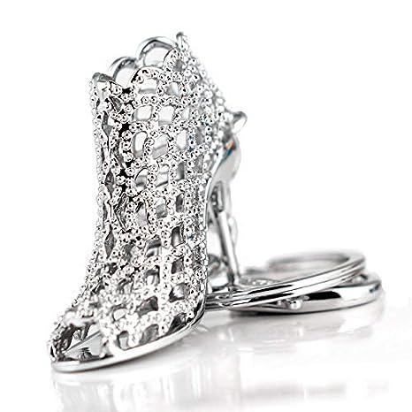 Amazon.com: JewelBeauty - Llavero con diseño de zapato de ...