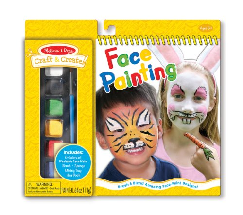 Melissa & Doug Craft and Create Face-Painting