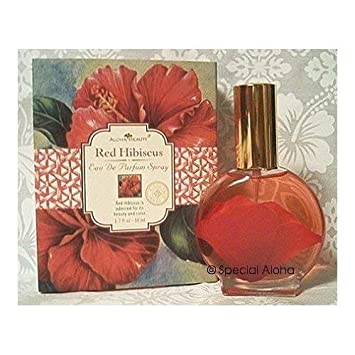 Aloha Beauty Hawaiian Red Hibiscus Eau De Parfum Spray 1.7 oz