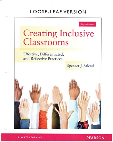 CREATING INCLUSIVE CLASSROOMS-TEXT
