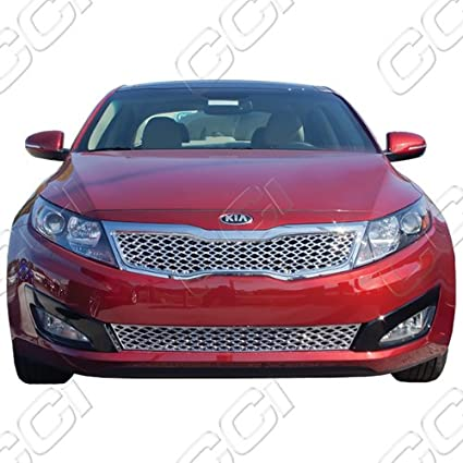 Amazon Com Kia Optima Chrome Front Grille Insert Fits 2011 2012