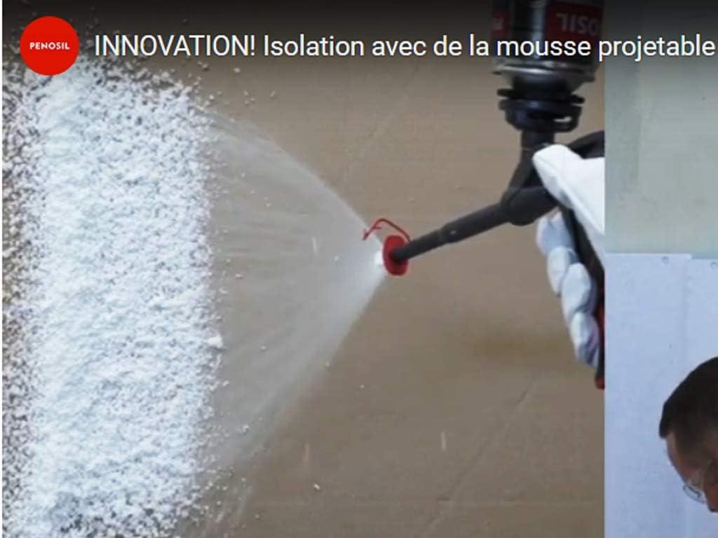 Espuma expansiva de poliuretano Projetable – Única en el mercado ...