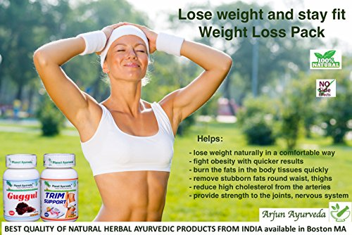 Weight Loss Pack Special - Ayurvedic remedy by Planet Ayurveda - US seller - 2 month supply by Planet Ayurveda