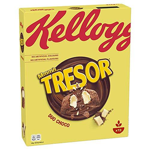 Kellogg's Tresor Duo Choco Cerealien | Einzelpackung | 375g