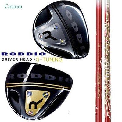 RODDIO ドライバー S-TUNING クレイジー CRAZY SPORTS CRAZY BORON R 9°/ブラックフェース B01BLXY31G