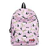 Panda Bag Fantasy Backpack Rucksack middle Pupils School Student Travel (panda, M)