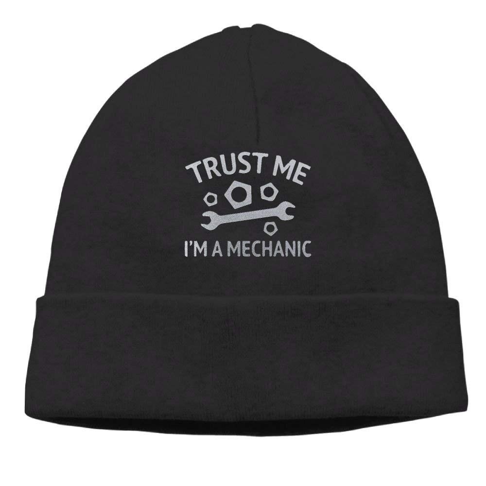 Trust Me I'm A Mechanic Unisex Fashion Beanie Knit Hat Cap ColorKey Melvin L