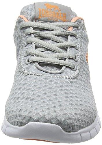 Hallenschuhe Grey Grau Damen Tydro Peach Lonsdale 7qx481vwAn