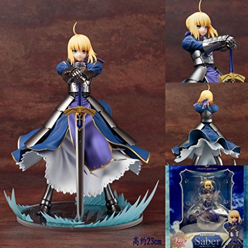 Anime-Fate-Stay-Night-Blue-Saber-Ver-20-Figma-PVC-Figure-227-New-in-Box