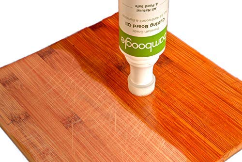 Bamboogle Cutting Board Mineral Oil - Easy Applicator & No Mess
