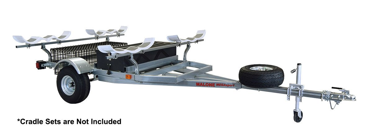 Malone Auto Racks 2 boat trailer package w/storage - Hobie PA by Malone