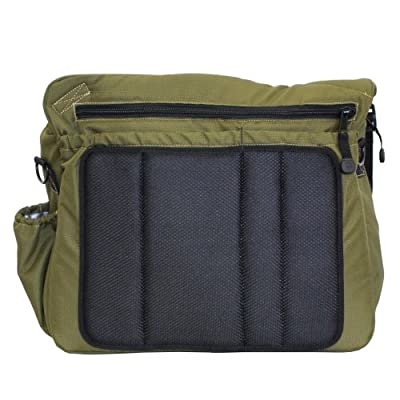 Diaper Dude Messenger II Bag with Dad Check List on Flap