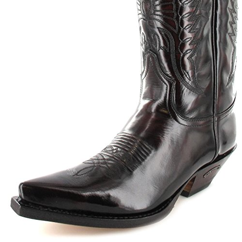 Sendra Boots 2073 - Botas De Vaquero de cuero unisex Fuchia
