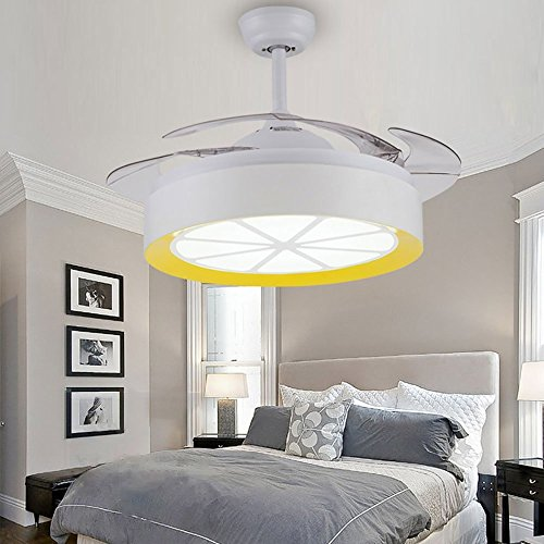 Arctic 42 Inch Ceiling Fan With Remote Control And Retractab