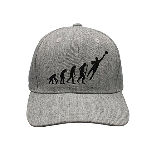 lsawdas Evolution Goalkeeper Soccer Woolen Peak Cap Snapback Hat Summer (Evolution Soccer Goal)