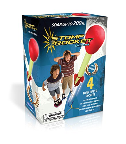 The Original Stomp Rocket: Ultra 4-Rocket Kit (Ultra Stomp Rocket)