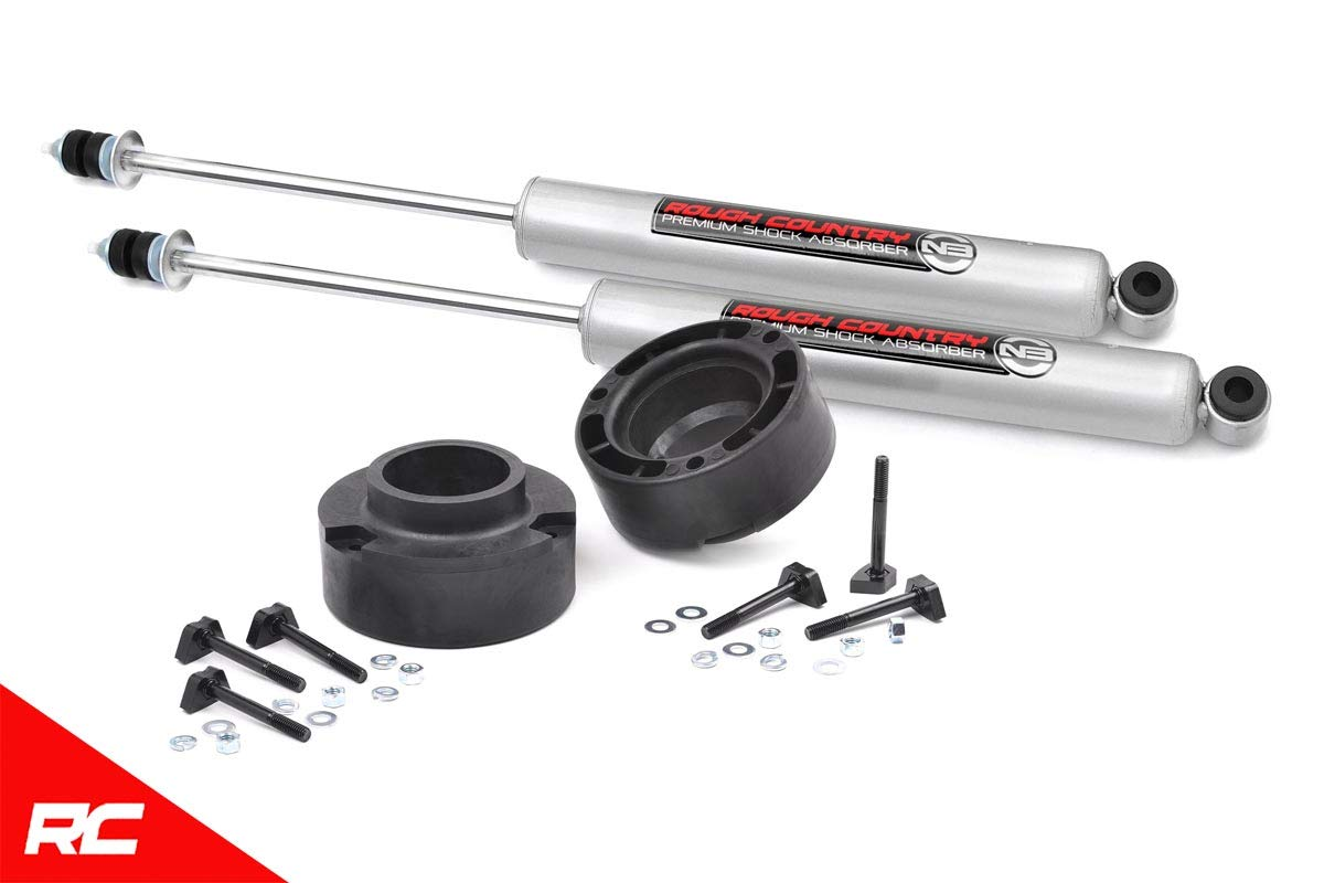Rough Country 2.5 Leveling Kit 1994-2013 4WD RAM Truck 2500 w// N3 Shocks Suspension System 374.20 fits