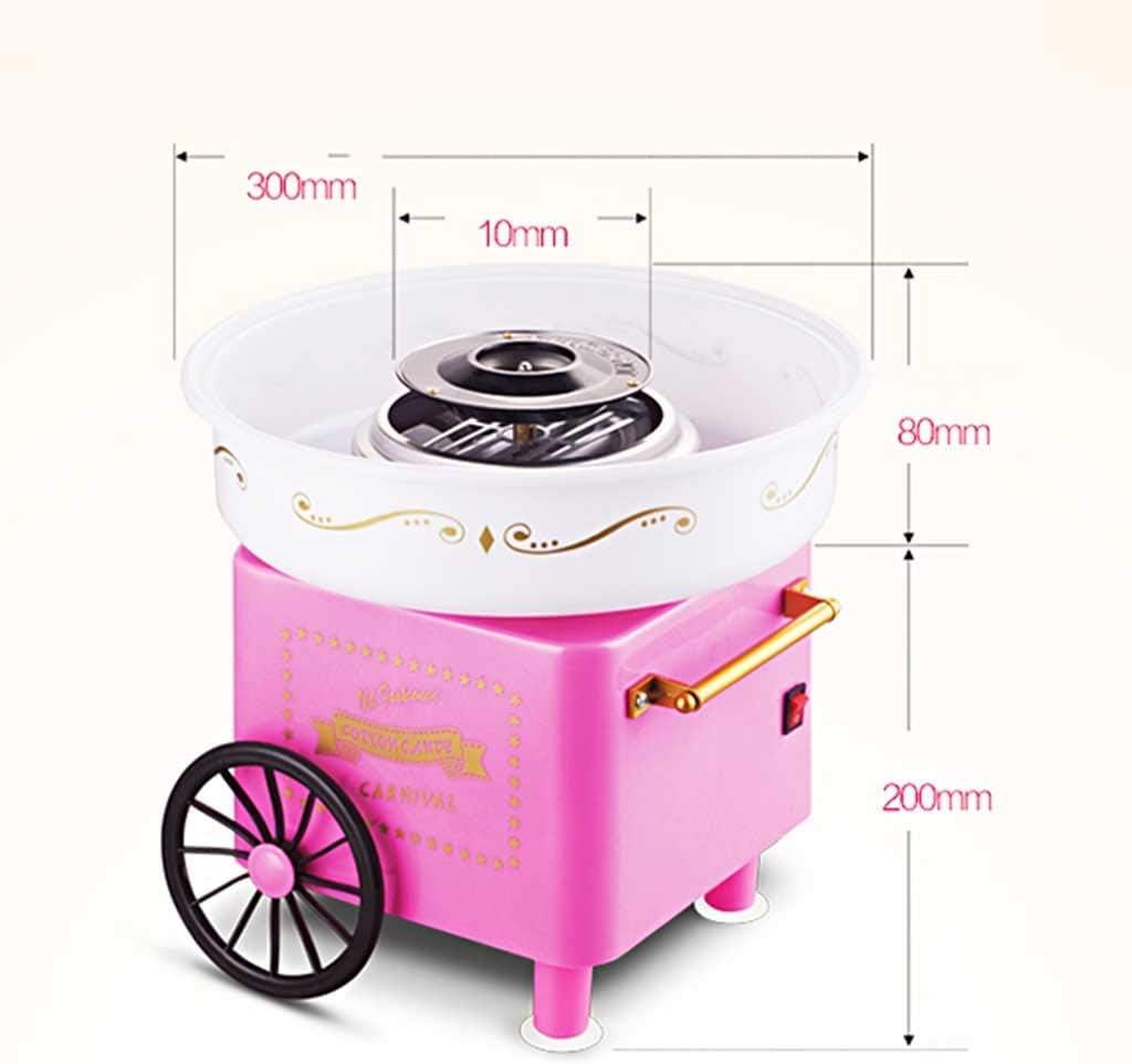 MU Mini máquina de Caramelo de algodón portátil para el hogar ...