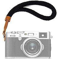 Black Cotton Camera Hand Wrist Strap for Fujifilm X100F...