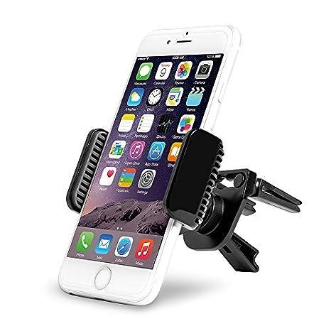 7c7d6db39f9f8a AVANTEK Support Voiture Télépohone Portable pour Grille d aération Lames  Verticales Horizontales Rotation 360°