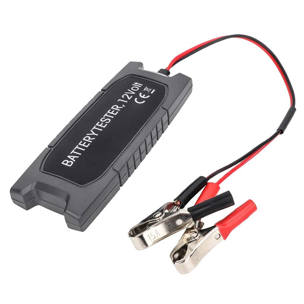 D DOLITY Car Battery Load Tester 12V Alternator Checker LED Lights Display