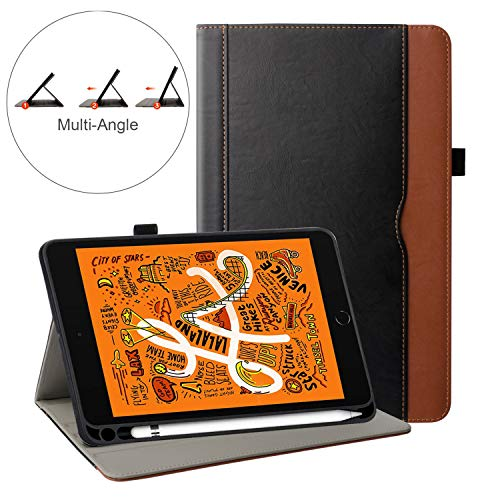 ZoneFoker iPad Leather Multi Angle Viewing
