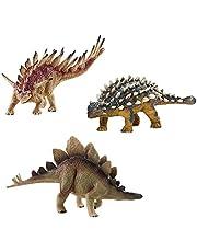 deAO Dinosaurios de Juguete Diseño Realista Figuras Prehistóricas Muñecos del Jurasico Plastico Duro