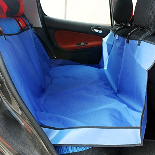 Pet Cat Dog Back Car Seat Cover Hammock Protector Mat Blanket Waterproof,blue (2006 Classic Car Mats)