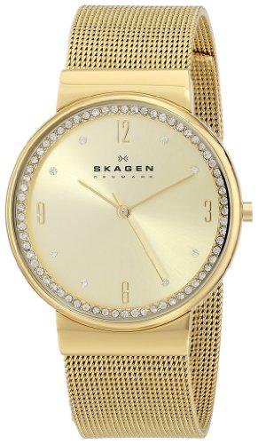Skagen Women's SKW2129 Ancher Gold Mesh Watch