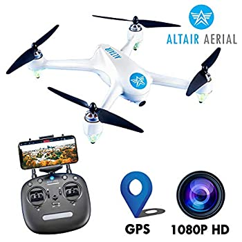 Image of Quadcopters & Multirotors Altair Outlaw Se GPS Drone with Camera | 1080p HD 5G WiFi Photo & Video FPV Drone for Adults Beginner & Skilled Pilots, GPS, Auto Return Home & Follow Quad, (Lincoln, NE Company)