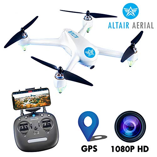 Altair Outlaw Se GPS Drone with Camera | 1080p HD 5G WiFi Photo & Video FPV Drone for Adults Beginner & Skilled Pilots, GPS, Auto Return Home & Follow Quad, (Lincoln, NE Company)
