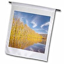 Danita Delimont - Trees - Poplar tree, irrigation, Otago, South Island, New Zealand-AU02 DWA6748 - David Wall - 18 x 27 inch Garden Flag (fl_75802_2)