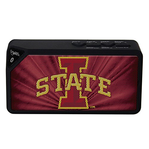 AudioSpice NCAA Iowa State Cyclones BX-100 Bluetooth Speaker, Black from AudioSpice